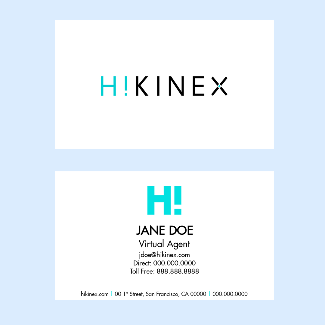 Portfolio hikinex hikinex business card reheart Images